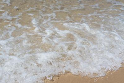 Sunshine Beach - sea foam