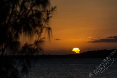 Moreton Bay  - sunset