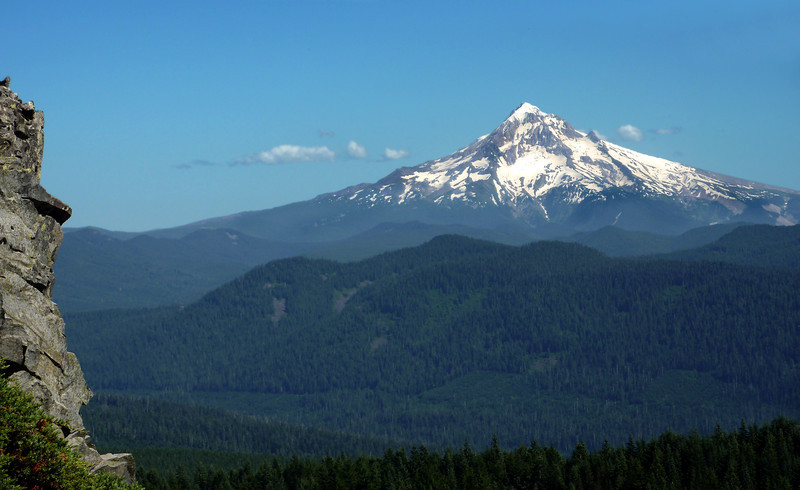 Mt. Hood from Larch Mtn.