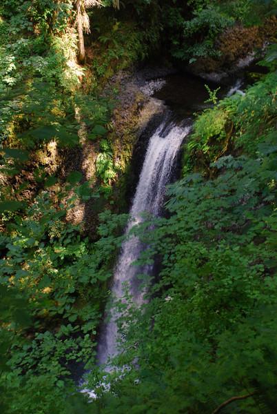 Weisendanger Falls from Above