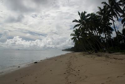 Rarotonga, Western Side in Cook Islands
