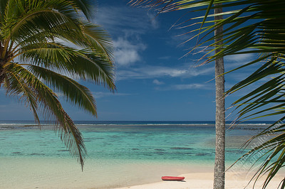 Rarotonga - beach