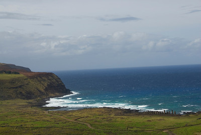 Seascape in Rapa Nui - Easter Island