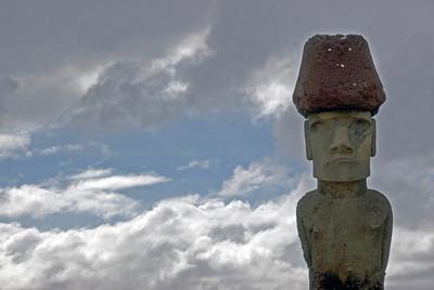 Maoi and Sky - Easter Island