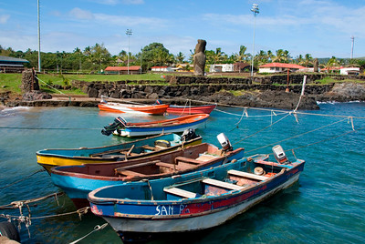 Harbor, Easter Island