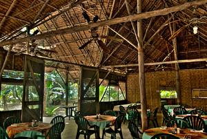 Restaurant at the Kosrae Village Ecolodge