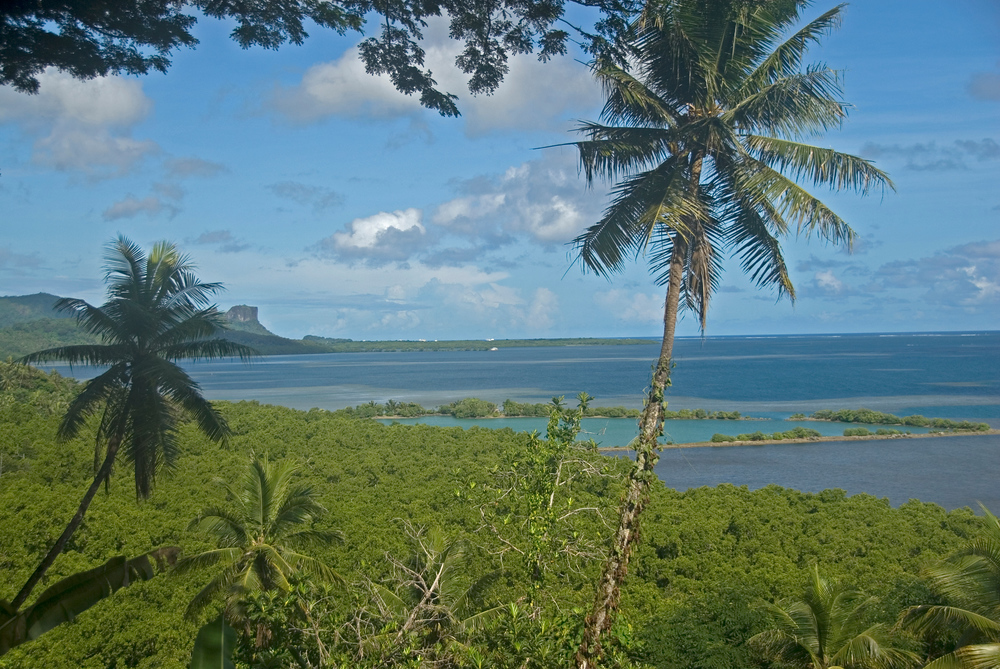 View of the Lagoon, Pohnpei, Micronesia