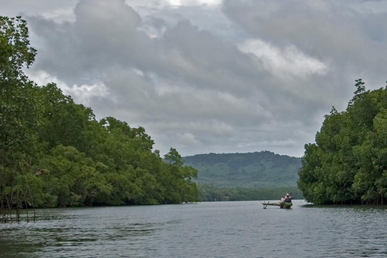 Outrigger canoe - Pohnpei, FSM