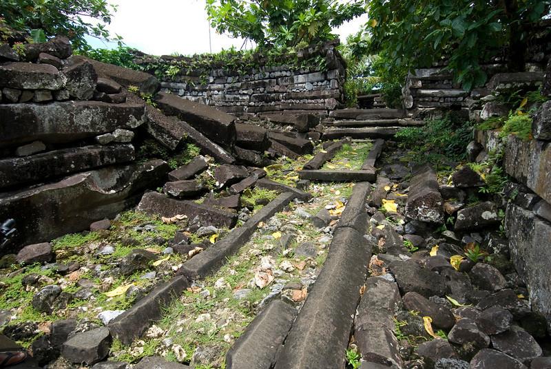 Nan Modal Inside - Pohnpei, Micronesia