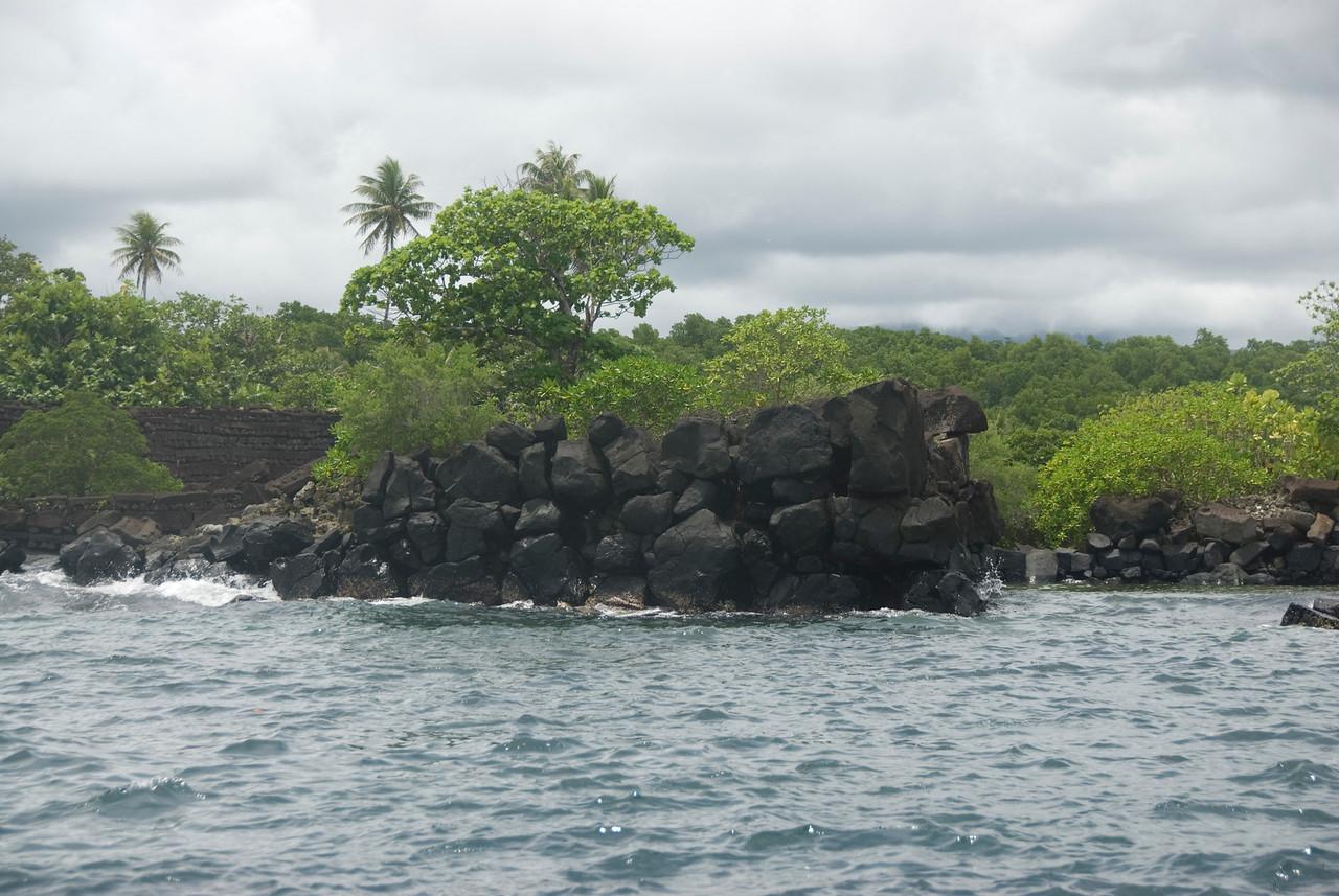 Nan Modal Harbor Entrance - Pohnpei
