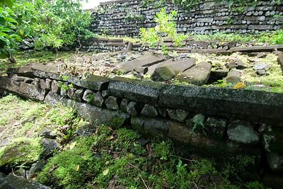 Nan Modal Tomb in Pohnpei, Micronesia