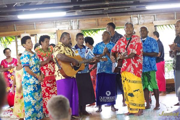 Singing and dancing in Naselesele