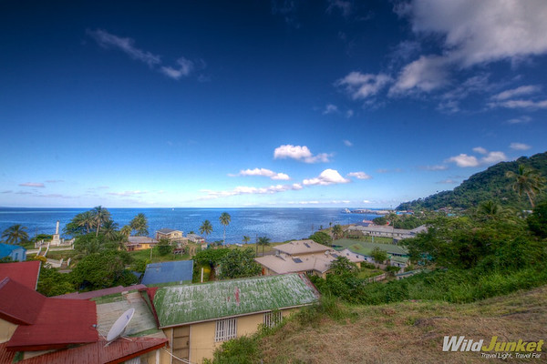 Levuka from above