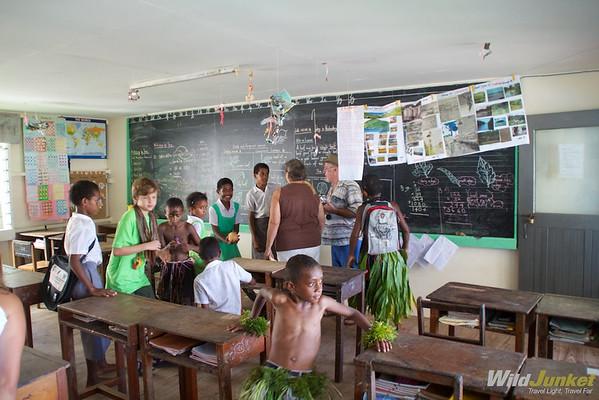 Delana Primary School classroom
