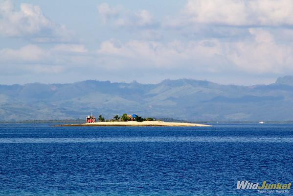 Small island near Tivua