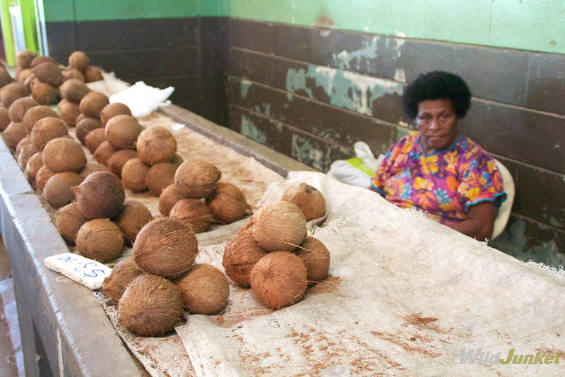 Coconuts, Fiji's biggest export