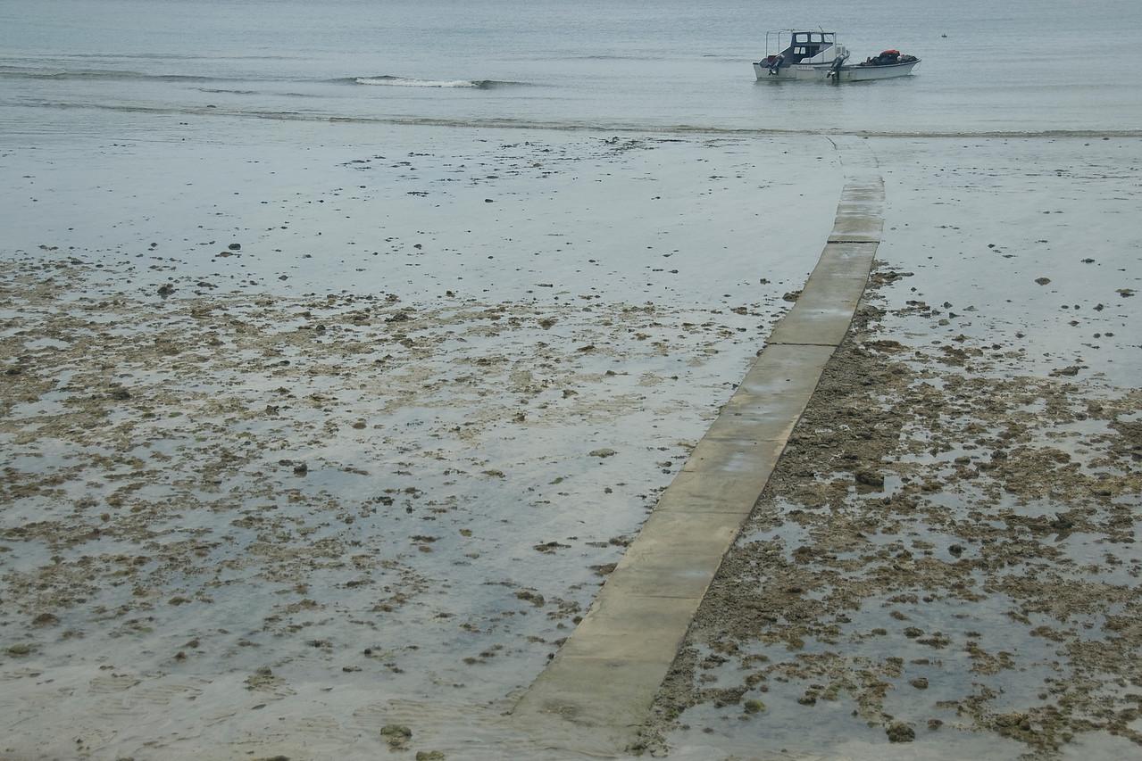 Path walk to the beach - Yasawa Islands, Fiji