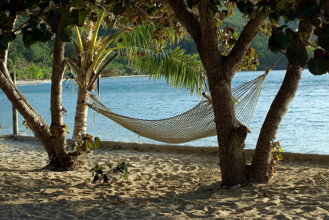 Hammock on the beach - Yasawa Islands, Fiji