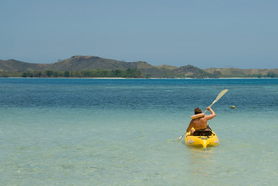 Kayaking in Yasawa Islands, Fiji