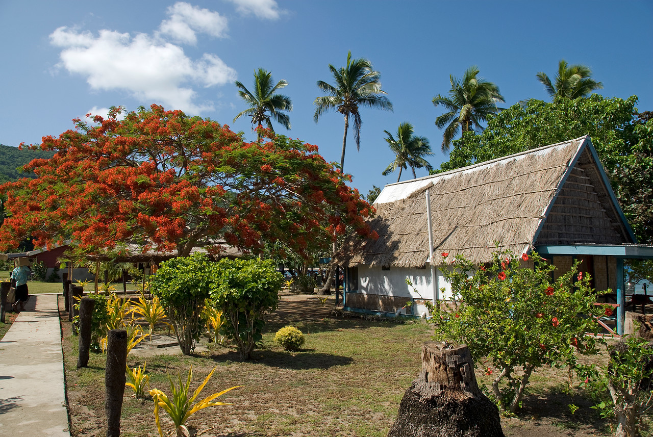 Resort life in Yasawa Islands, Fiji