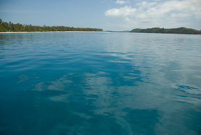 Seascape in Yasawa Islands, Fiji