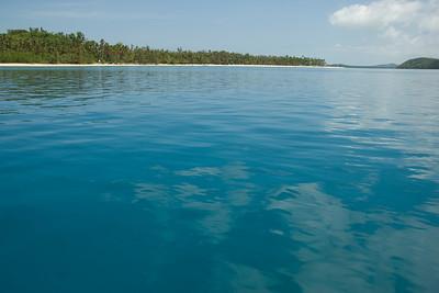 Seascape in Yasawa Islands, Fiji
