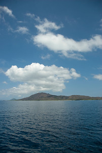 View of island from the sea - Yasawa Islands, Fiji