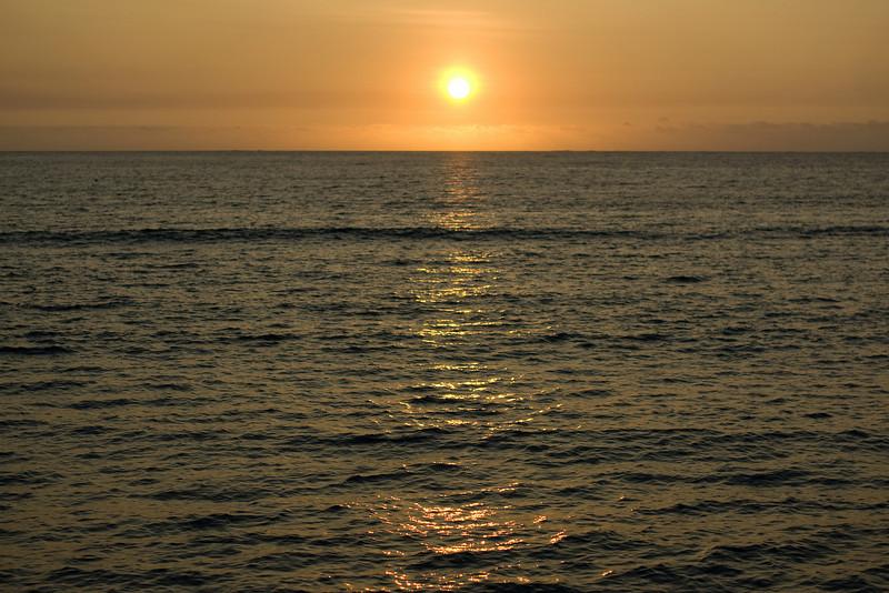 Sunset in Yasawa Islands, Fiji