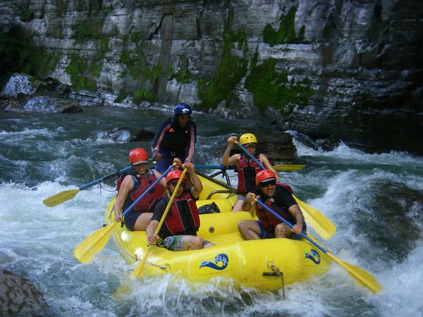 Paddling Upper Navua River