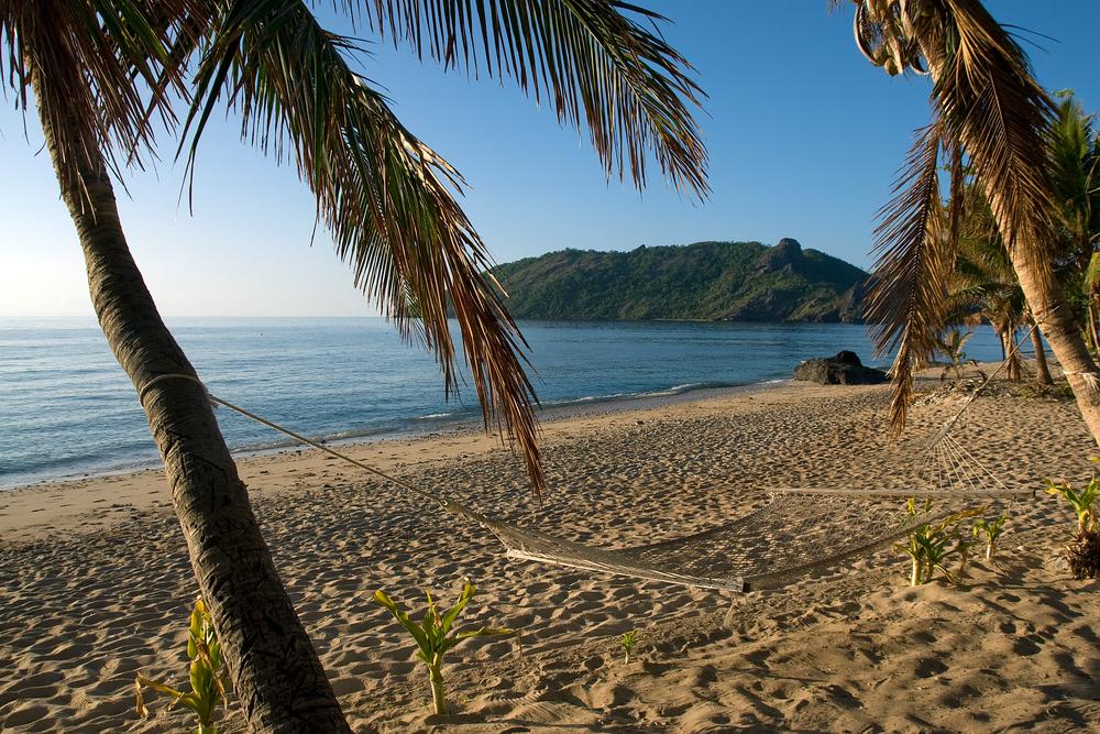 Beach on Waya Lailai Island, Fiji