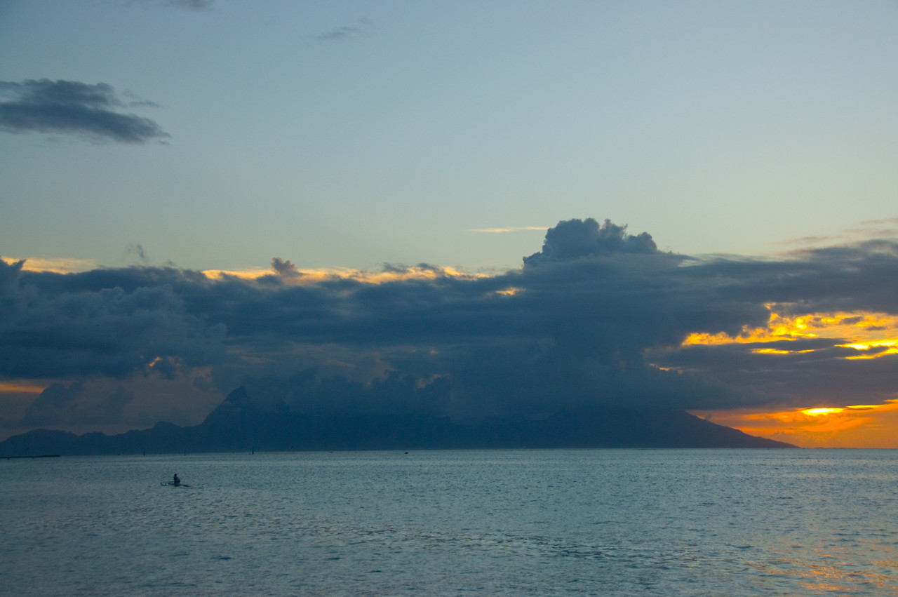 Moorea at Sunset