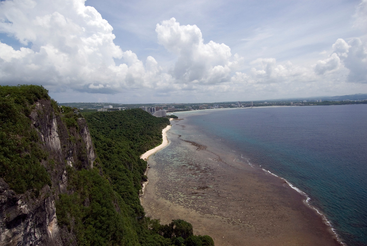 Tumon Bay from Two Lovers Point - Guam