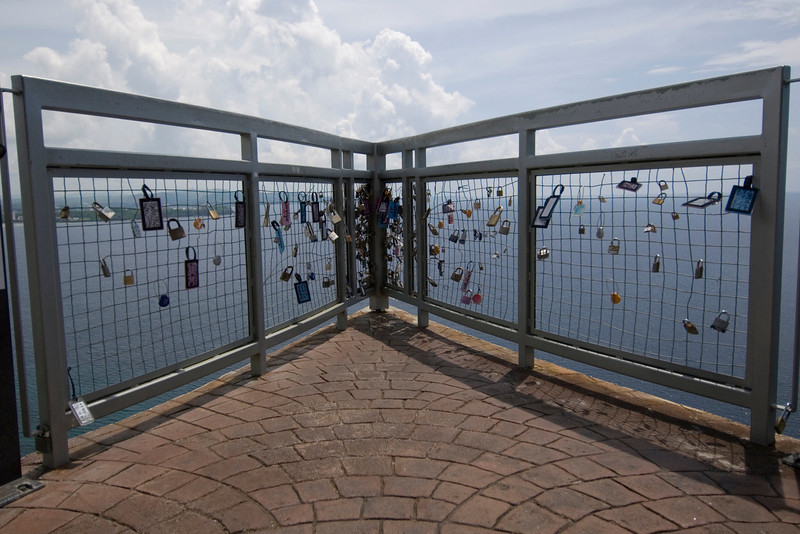 Locks at Two Lovers Point - Guam
