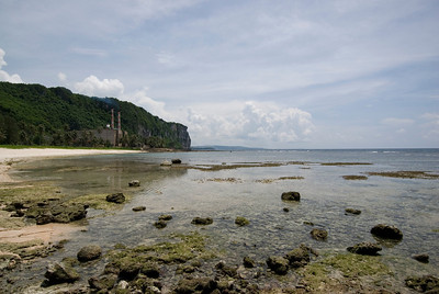 Two Lovers Point from Beach - Guam
