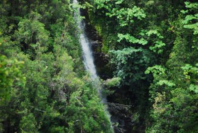 Aerial view of Akaka Falls, Hawaii