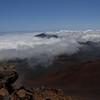 The summit area in Haleakala                                       National Park on Maui Island,                                       Hawaii