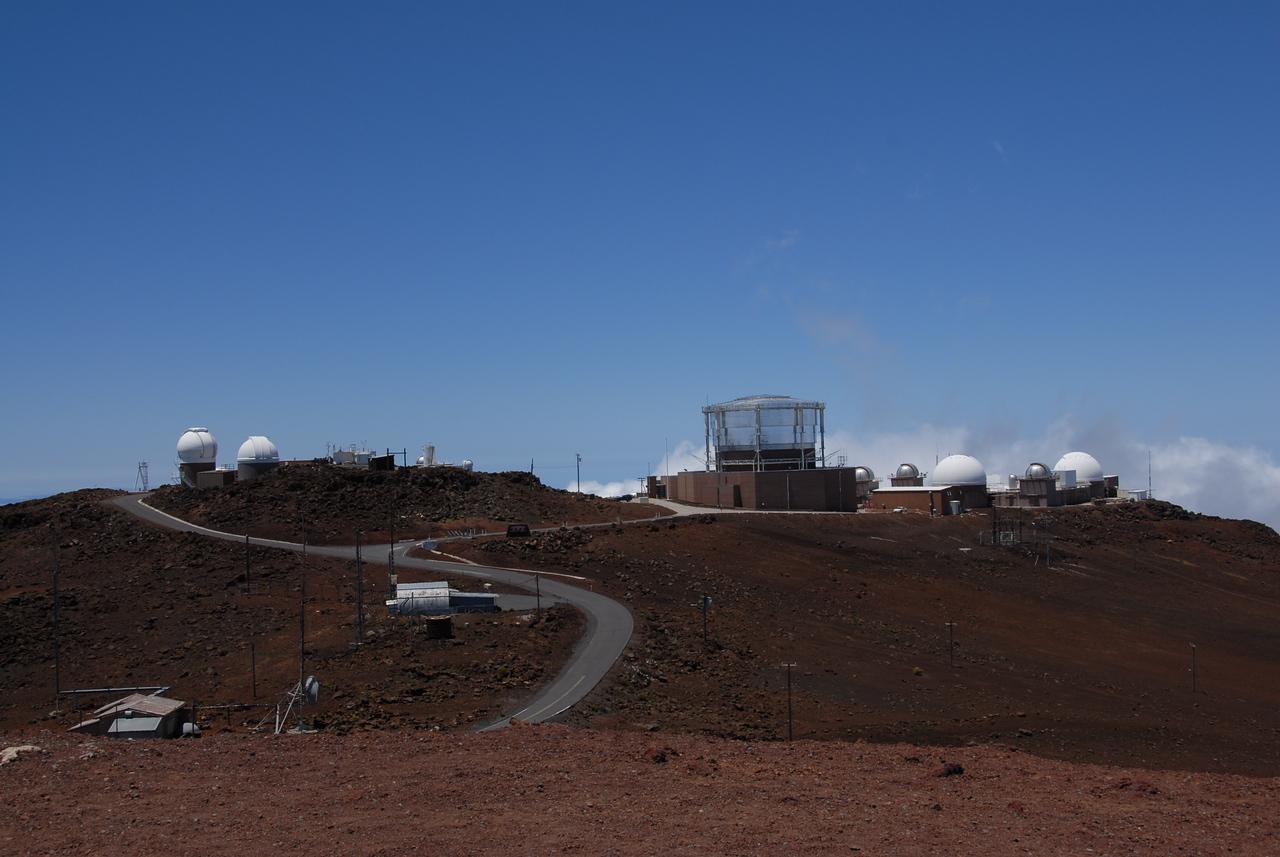 Haleakala Observatory in Maui, Hawaii