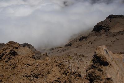 Haleakala National Park crater - Maui, Hawaii
