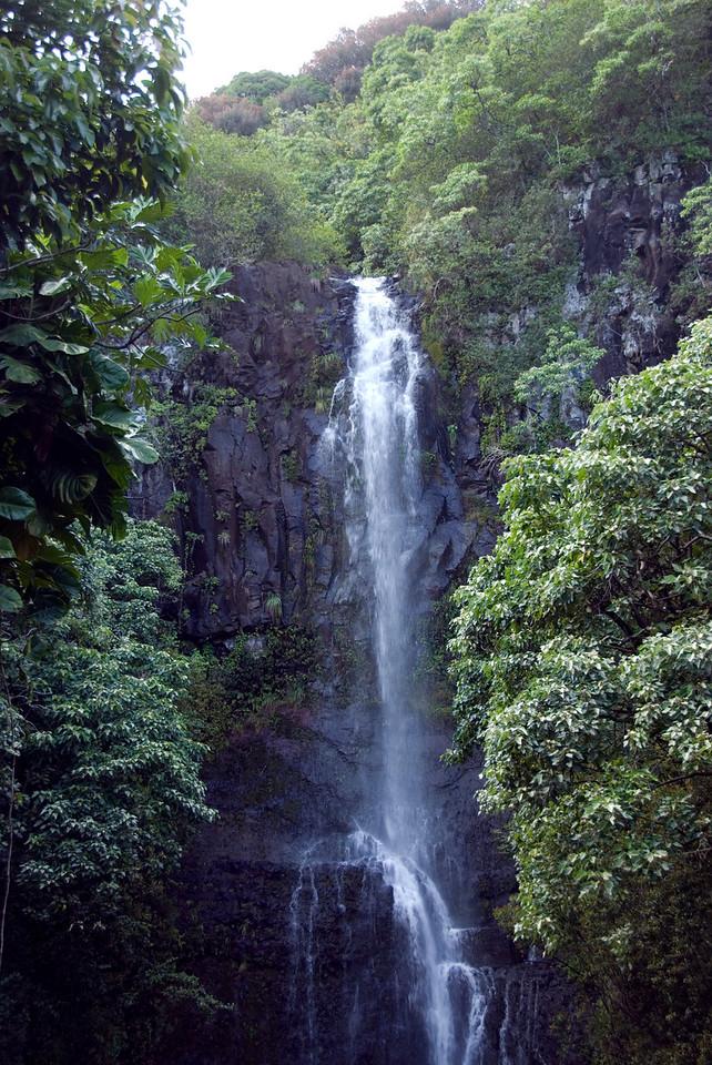 Hana Coast falls in Hana, Hawaii