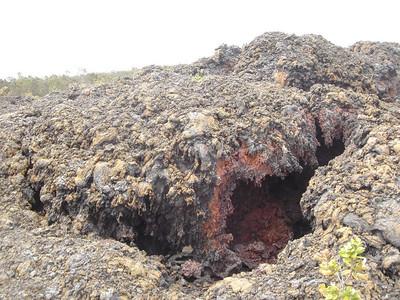 Volcano park in Hawaii