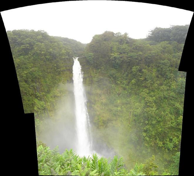 akaka falls panarama