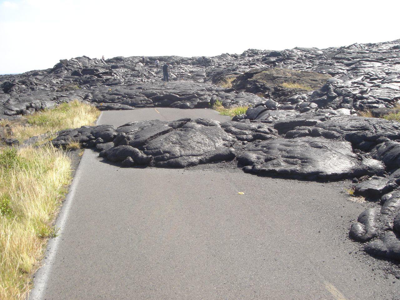 Recent Kilaeua Lava Flow