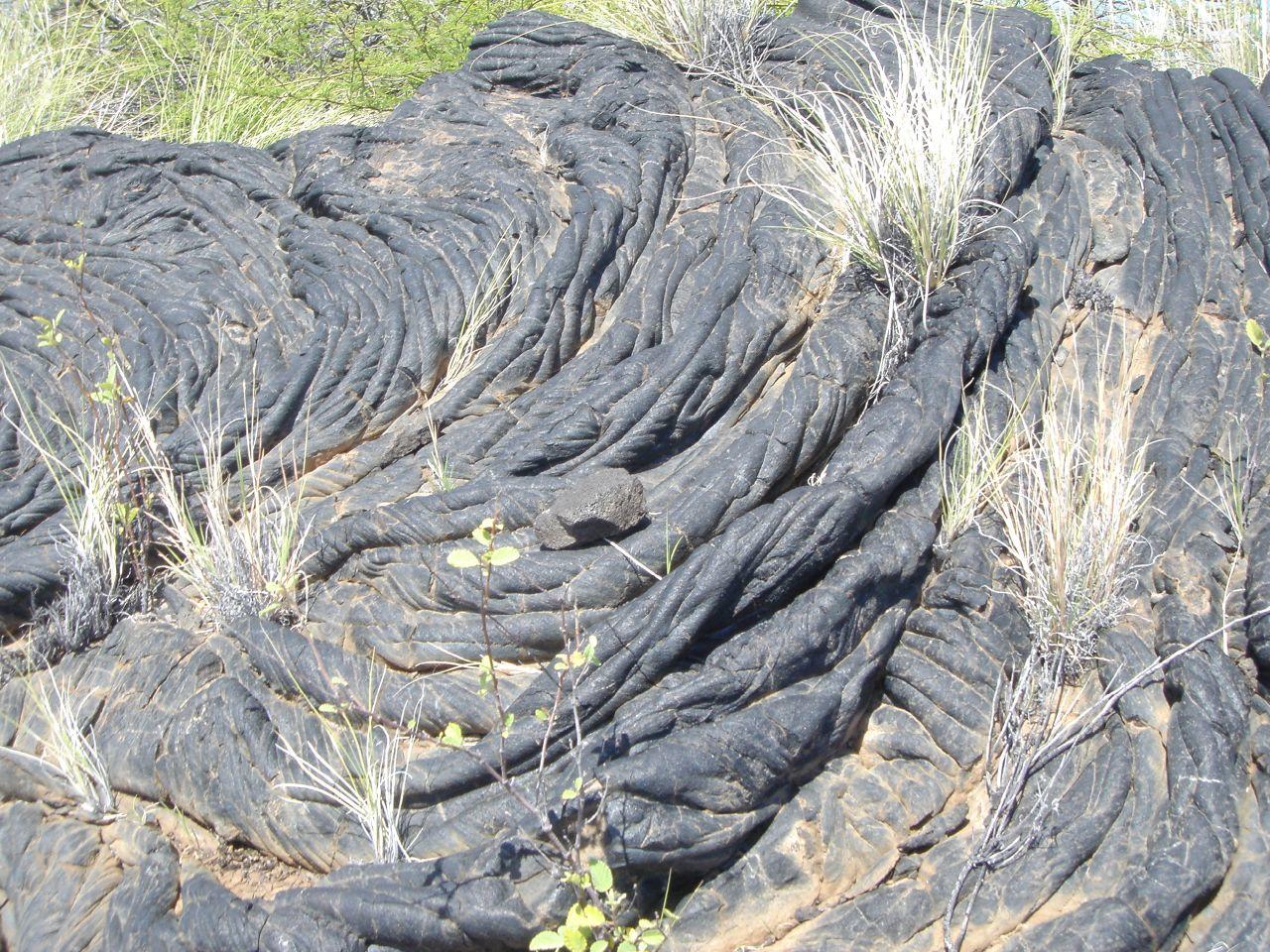 Pahoehoe Lava Flows