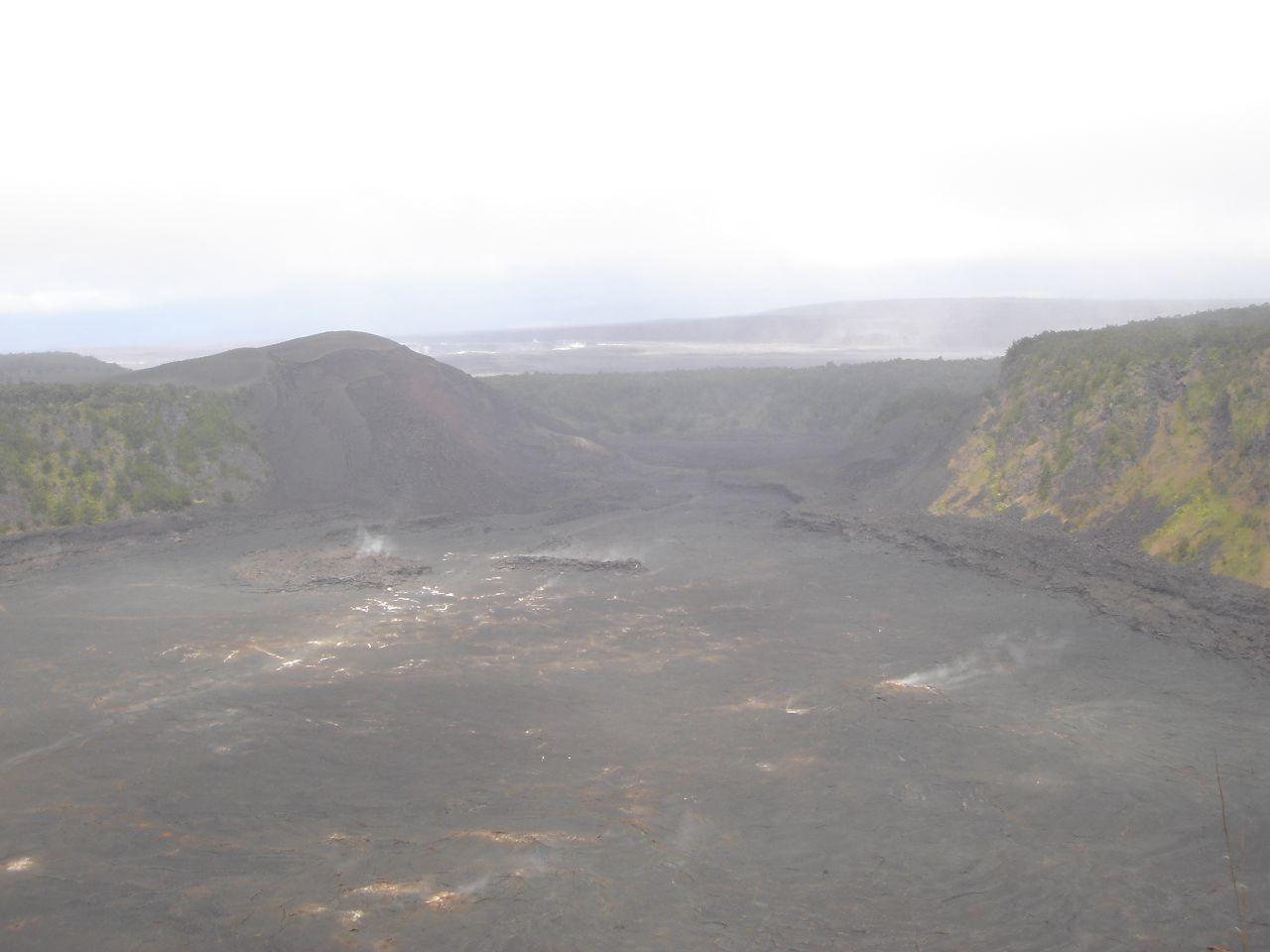 Lava landscape in Hawaii