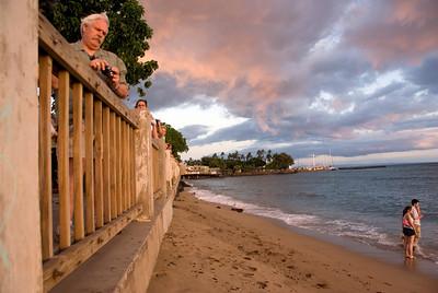 Front Street Seawall, Lahaina, Hawaii