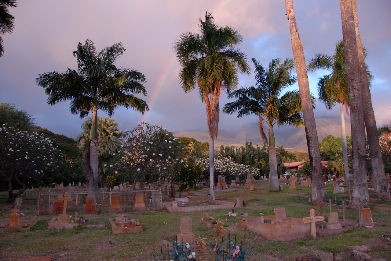 Rainbow over Lahaina, Hawaii