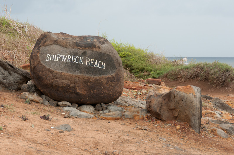 10th favorite beach in the world: Shipwreck Beach, Lanai, Hawaii