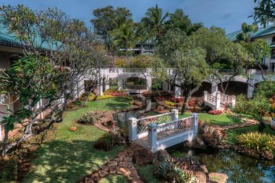 Hawaiian Garden at the Four Seasons Resort Lana'i, Hawaii