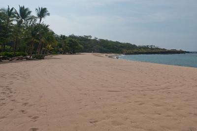 White sand beach in Lanai, Hawaii