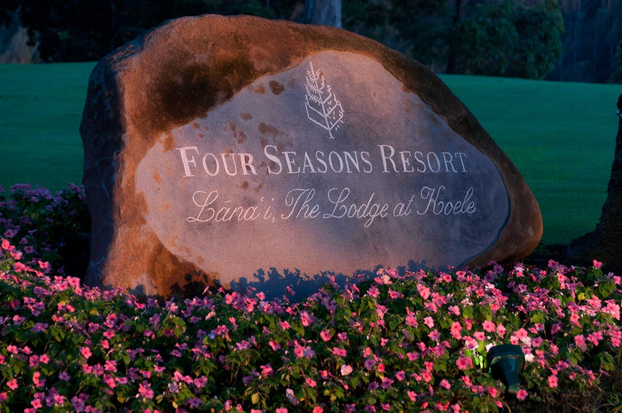 Four Seasons Resort in Lanai, Hawaii